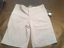 NWT NIKE GOLF DRI-FIT FLAT TOUR PERFORMANCE SHORTS MEN SZ 34