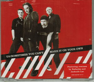 U2 [CD singolo ''Sometimes you can't make it on your own'' slim case sigillato]
