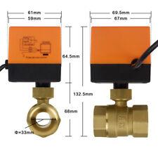 Zonenventil 2 Wege Elektrische Ventil Zweiwegeventil DN25 Kugelventil 1 Zoll DHL