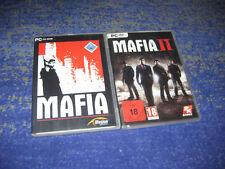 Mafia 1 und 2  PC in DVD Hülle Deutsche Verkausversionen