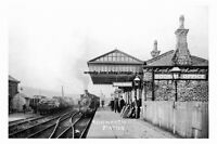 pt3310 - Rishworth Railway Station , Yorkshire - photograph 6x4