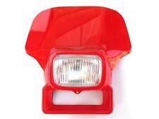 New Honda Red XR350 XR500 XR XL 200 250 350 500 600 Headlight