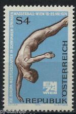 1974 Oostenrijk 1461 EK zwemmen   / EC swimming