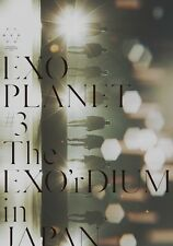 New EXO PLANET #3 The EXO'rDIUM in JAPAN First Limited Edition 2 DVD Photobook