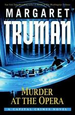 Murder at the Opera Vol. 22 by Margaret Truman (2006, LN HDBK) Free Shipping