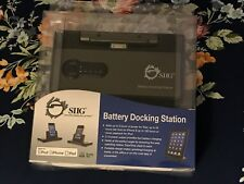 SIIG Foldable Battery Docking Station- for iPad, iPhone 4/4S and earlier model o