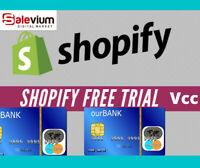 VCC SHOPIFY FREE TRAIL VERIFICATION ✅ VIRTUAL CARD