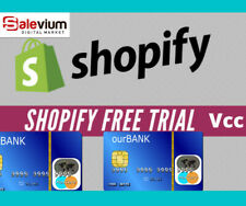 VCC SHOPIFY FREE TRAIL VERIFICATION ✅ VIRTUAL CARD