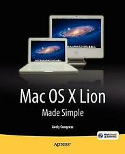 Mac OS X Lion Made Simple, Axely Congress, Excellent