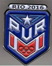 RIO 2016. OLYMPIC GAMES. OLYMPIC PIN. NOC. PUERTO RICO