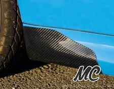 Renault clio 197/RS200 * vrai * fibre de carbone côté jupe guêtres