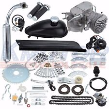 Brand New Black DIY Motorized Bicycle 80cc Bike 2 Stroke Gas Engine Motor Kit