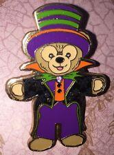 Disney Pin Duffy Bear Halloween 2013 Dressed As Vampire DLP DLRP Paris Hat