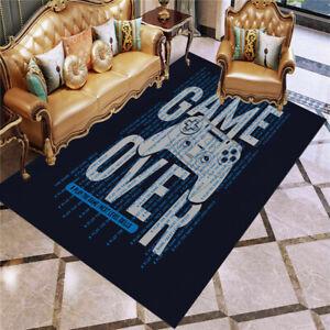 3D PlayStation Game Console Buttons Rug Gamer Doormat Door Floor Mat Carpet J36#