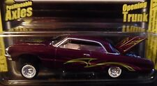 REVELL 64 1964 CHEVY IMPALA LOWRIDER MAGAZINE CHEVROLET COLLECTIBLE CAR PURPLE