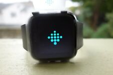 Fitbit Versa Smartwatch Black/Black Aluminum- BRAND NEW! NO Box or Charger!