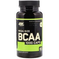 OPTIMUM NUTRITION - BCAA 1000 Caps Amino Acids 60 Capsules LOWEST PRICE