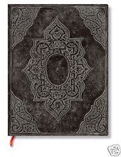 Paperblanks Blank Lined Writing Journal Concordia Black Ultra Size 7X9 NWT