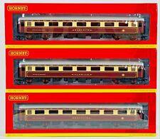 More details for hornby 00 gauge - r4898 - northern belle pullman coach pack belvoir harlech etc