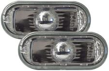 VW LUPO CRYSTAL CLEAR CHROME SIDE LIGHT REPEATER INDICATORS