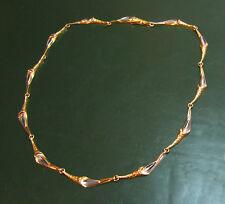 Wunderbare LAPPONIA 585er GOLDKETTE m. Platin Weckström • 20,85 g • Gold-Collier