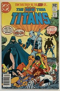 (1980) THE NEW TEEN TITANS #2 NEWSSTAND VARIANT COVER! 1st App DEATHSTROKE