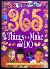 """""""365 Things to Make and Do"""" - Brand New Kid's Craft & Activity Book  Home School"""
