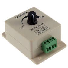 DIMMER PER STRISCIA FARETTO LED analogico Manuale Rotella Strip Light 12V 24V 8A
