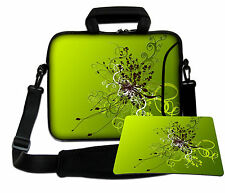 LUXBURG 13,3 Inch Design Laptop Notebook Shoulder Bag with Matching Mousepad #EF