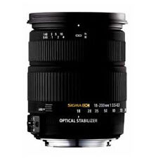 Sigma DC 18-250 mm F/3.5-6.3 OS HSM DC Universal Objektiv für Sony DSLR NEU