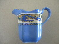 "Vintage Porcelain Creamer ""Ming"" Hand Painted around Dragon Transfer"