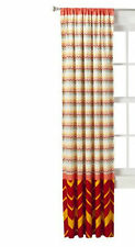MISSONI for Target WINDOW PANEL CURTAINS Red Medallion Drapes 84""