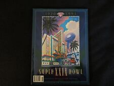 SUPER BOWL XX1X SAN FRANCISCO 49ERS VS SAN DIEGO CHARGES OFFICIAL NFL MAGAZINE