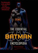 The Essential Batman Encyclopedia (Batman), Good Condition Book, Robert Greenber