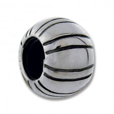 AUTHENTIC CARLO BIAGI STERLING SILVER BALL LINE CHARM BEAD for European Bracelet