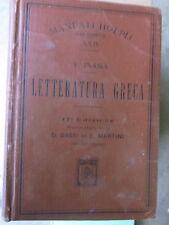Inama, Bassi, Martini - Letteratura greca - Manuali Hoepli