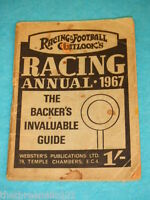 RACING & FOOTBALL OUTLOOK'S RACING ANNUAL 1967 #1
