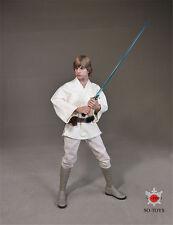 SO-TOYS NO:T-004 Star Wars Luke Skywalker White clothes suit 1/6 action figure