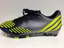 Adidas predator lz trx fg, Black/Neo Iron MET./Lab lime taille 42 Chaussure de football