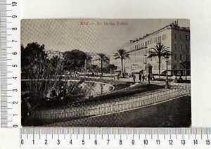 "13189) France 1907 PC "" Nice le Jardin Public' Mantova"