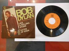 BOB DYLAN 45T 7' CBS 6107 like rolling ORIG FRANCE EXC-