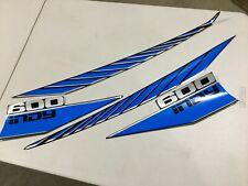 NOS Polaris Hood Decals 87 Indy 600 Vintage Snowmobile Lot
