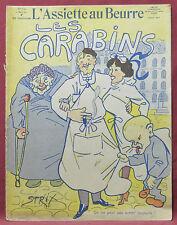 Assiette au Beurre N˚519  11 Mars 1911  Les Carabins par Strix