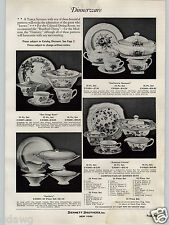 1936 PAPER AD San Diego Rose Century Rosebud Chintz California Bouquet China