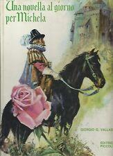 Una novella al giorno per Michela - Collana Perla  - Piccoli  anni '70