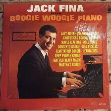 "JACK FINA ""Boogie Woogie Piano"" Vinyl Record LP Hamilton HLP-139"