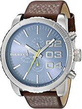 Diesel Men's DZ4330 Double Down Analog Display Analog Quartz Brown Watch
