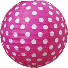 JaBaDaBaDo Papier Lampenschirm Kinderzimmer Lampe Pink / Weiß ø 50cm