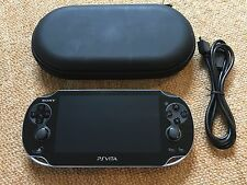 Sony PS Playstation Vita Black OLED Handheld Console WIFI Ver 3.65 PCH-1003 #22