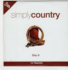 (FF769) Simply Country, 15 tracks various artists [Disc 9] - 2012 CD